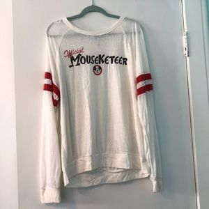 Mouseketeer T-shirt from Disney World